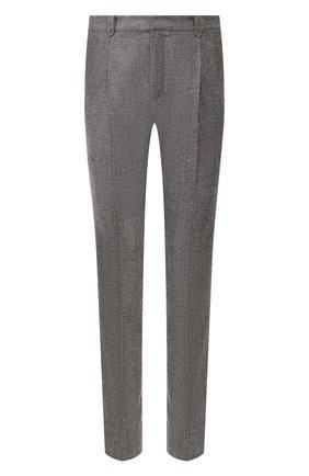 Мужской шерстяные брюки BRIONI серого цвета, арт. RPN60L/06AAF/D0L0MIA | Фото 1
