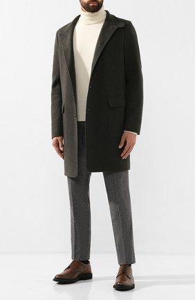 Мужской шерстяные брюки BRIONI серого цвета, арт. RPN60L/06AAF/D0L0MIA | Фото 2