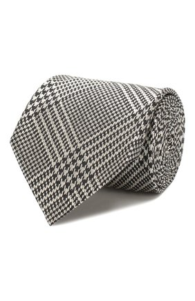Галстук из смеси шелка и шерсти | Фото №1