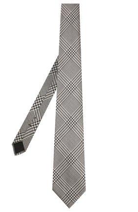 Галстук из смеси шелка и шерсти | Фото №2
