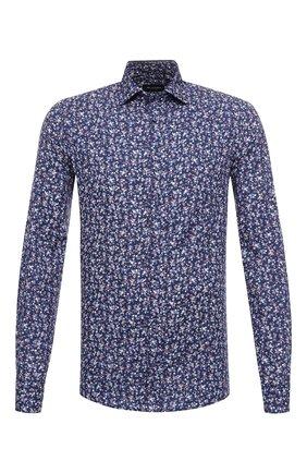 Мужская хлопковая сорочка SAND синего цвета, арт. 8211 IVER S0FT | Фото 1