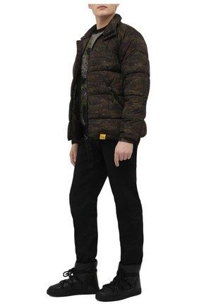 Мужские кожаные сапоги INUIKII черного цвета, арт. 50202-89 | Фото 2