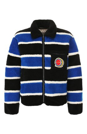 Мужская куртка MARNI разноцветного цвета, арт. JUMU0043Q0/S23528 | Фото 1