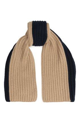 Мужской кашемировый шарф LORO PIANA бежевого цвета, арт. FAI8788 | Фото 1