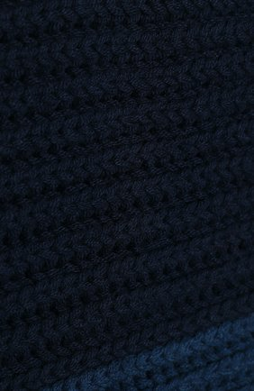 Мужской кашемировый шарф LORO PIANA темно-синего цвета, арт. FAI8788 | Фото 2