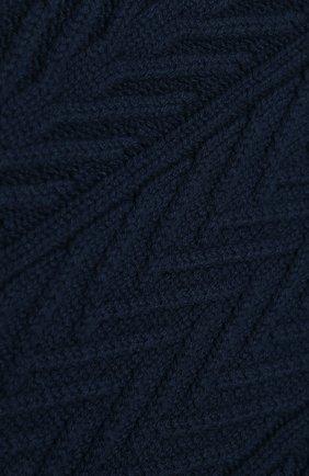 Мужской кашемировый шарф LORO PIANA темно-синего цвета, арт. FAI8762 | Фото 2
