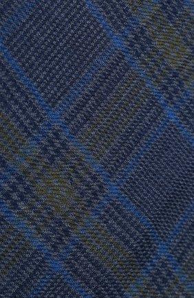Мужской шарф из смеси кашемира и шелка LORO PIANA синего цвета, арт. FAI8602 | Фото 2