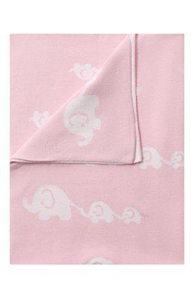 Детского хлопковое одеяло KISSY KISSY розового цвета, арт. L032BLEL | Фото 1