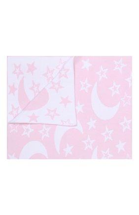 Детского хлопковое одеяло KISSY KISSY розового цвета, арт. L032BLMS | Фото 1