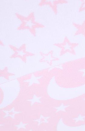 Детского хлопковое одеяло KISSY KISSY розового цвета, арт. L032BLMS | Фото 2