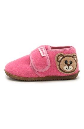 Детского домашние ботинки NATURINO розового цвета, арт. 0014000639/01/20-23 | Фото 2