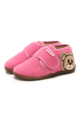 Детского домашние ботинки NATURINO розового цвета, арт. 0014000639/01/24-26 | Фото 1