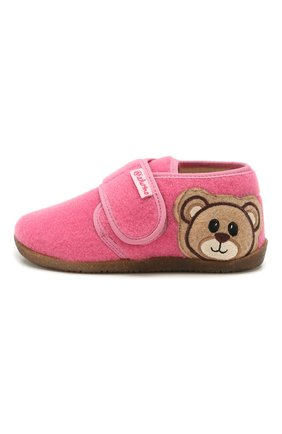 Детского домашние ботинки NATURINO розового цвета, арт. 0014000639/01/24-26 | Фото 2