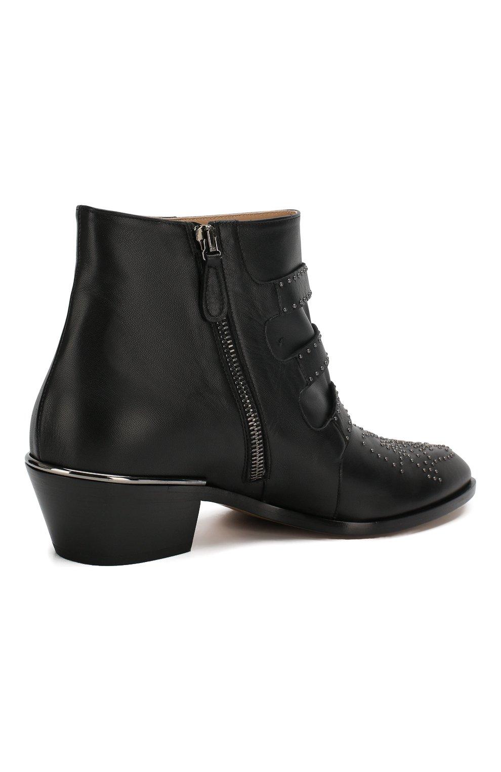 Кожаные ботинки Susanna | Фото №4