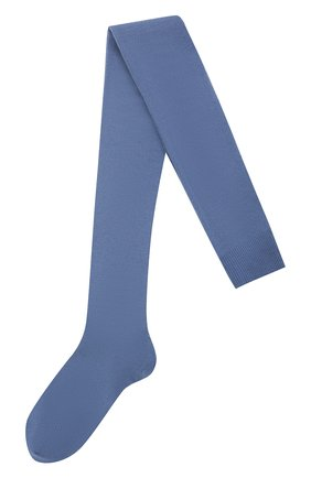 Детские шерстяные колготки FALKE синего цвета, арт. 13488 | Фото 1