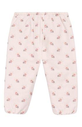 Детские хлопковые брюки TARTINE ET CHOCOLAT светло-розового цвета, арт. TP22021/1M-1A | Фото 1