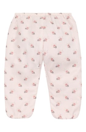 Детские хлопковые брюки TARTINE ET CHOCOLAT светло-розового цвета, арт. TP22021/1M-1A | Фото 2