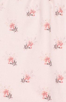 Детские хлопковые брюки TARTINE ET CHOCOLAT светло-розового цвета, арт. TP22021/1M-1A | Фото 3