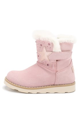 Детские замшевые ботинки WALKEY светло-розового цвета, арт. Y1A6-40616-0421/19-24 | Фото 2