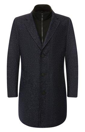 Пальто из смеси шерсти и хлопка | Фото №1