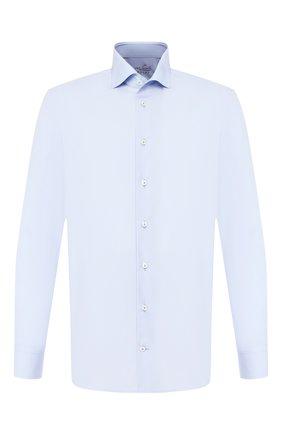 Мужская хлопковая сорочка VAN LAACK голубого цвета, арт. RIVARA-TF/130648 | Фото 1