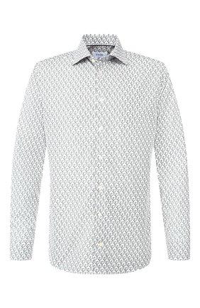 Мужская хлопковая сорочка ETON белого цвета, арт. 1000 00174   Фото 1
