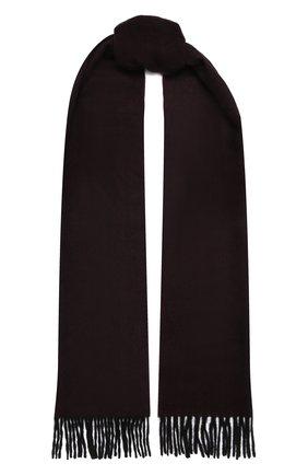 Мужской кашемировый шарф LANVIN бордового цвета, арт. 5050/SCARF | Фото 1
