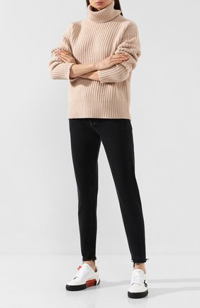 Женские джинсы AGOLDE черного цвета, арт. A045C-1139 | Фото 2