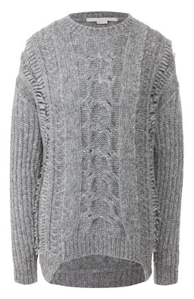 Женская шерстяной свитер STELLA MCCARTNEY серого цвета, арт. 592497/S2125 | Фото 1