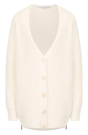Женский шерстяной кардиган STELLA MCCARTNEY белого цвета, арт. 574962/S2086 | Фото 1