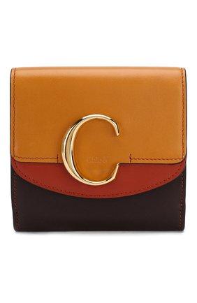 Кожаное портмоне Chloé C | Фото №1