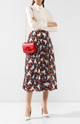 Женская сумка valentino garavani vlock small VALENTINO красного цвета, арт. SW0B0F21/JEA | Фото 2