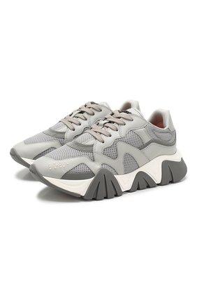 Текстильные кроссовки Scualo | Фото №1