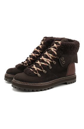 Замшевые ботинки Eileen | Фото №1