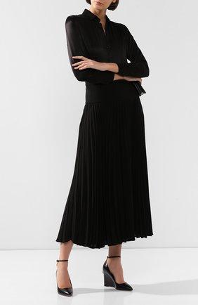Женская кожаные туфли valentino garavani ringstud VALENTINO черного цвета, арт. SW0S0S36/FVI   Фото 2