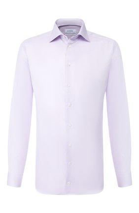 Мужская хлопковая сорочка ETON сиреневого цвета, арт. 1000 00323 | Фото 1