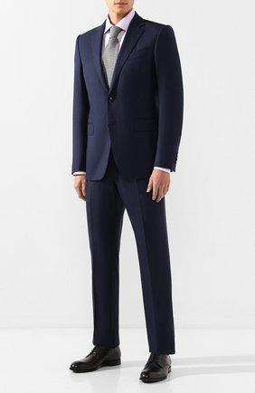 Мужская хлопковая сорочка ETON сиреневого цвета, арт. 1000 00323 | Фото 2