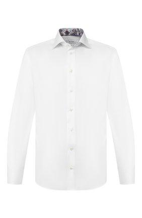 Мужская хлопковая сорочка ETON белого цвета, арт. 1000 00065   Фото 1