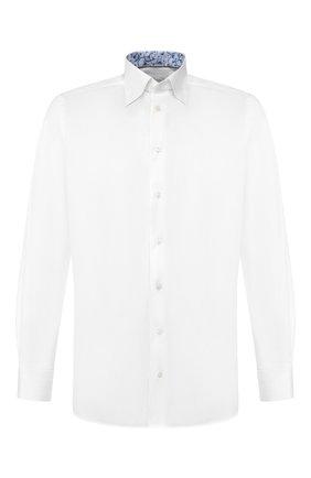 Мужская хлопковая сорочка ETON белого цвета, арт. 1000 00058   Фото 1