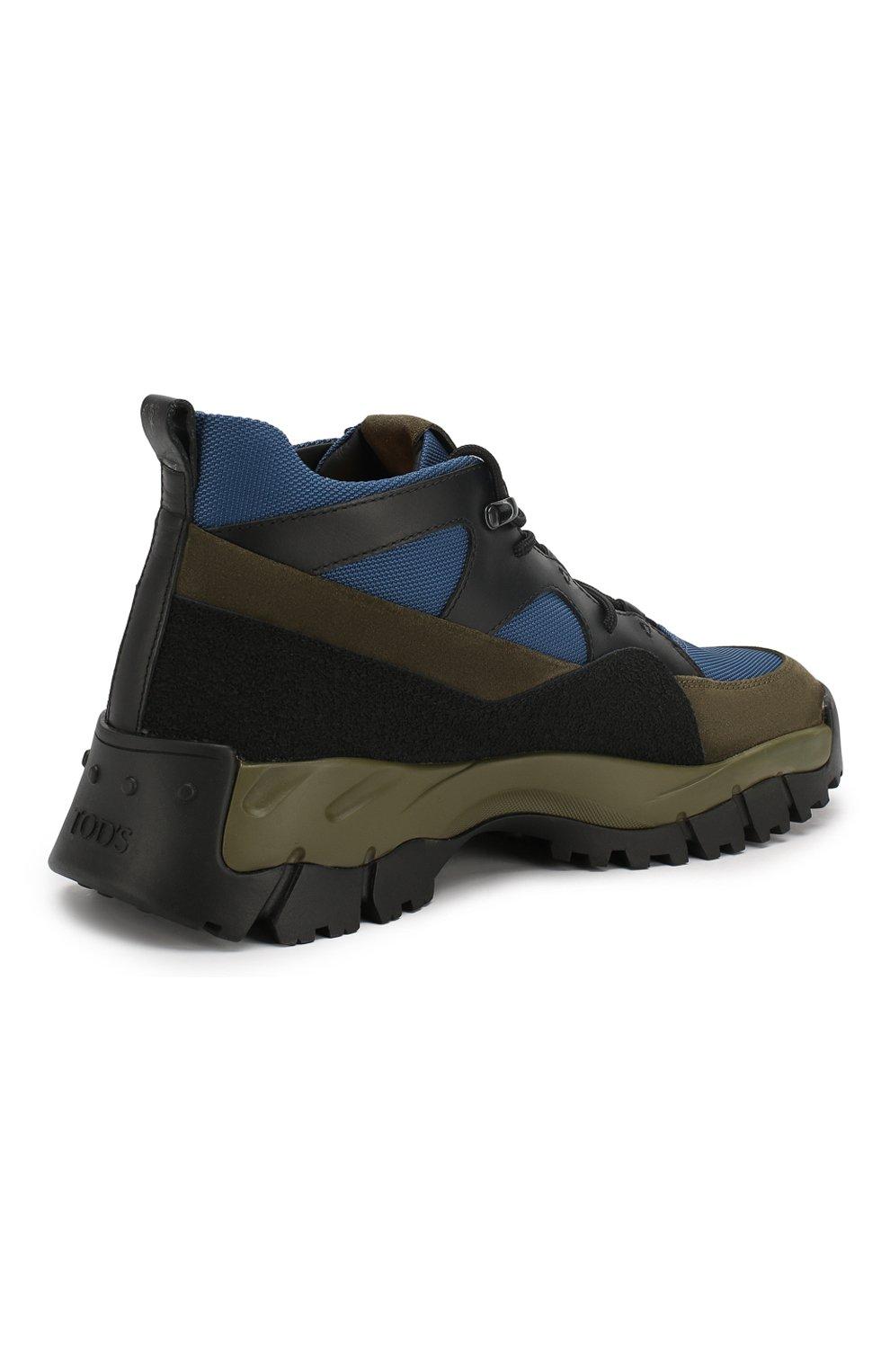 Комбинированные ботинки   Фото №4