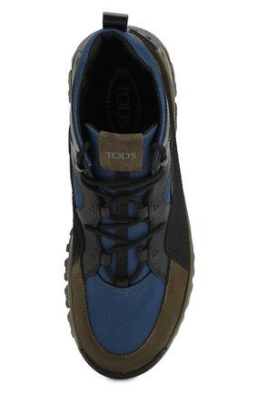 Комбинированные ботинки   Фото №5