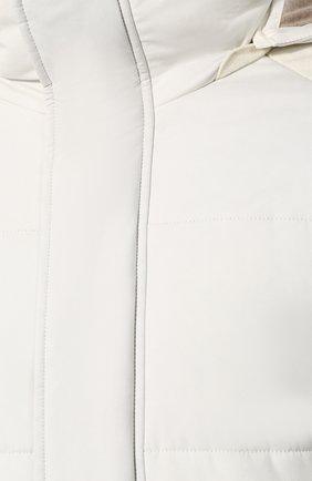 Мужская утепленная куртка LORO PIANA белого цвета, арт. FAI8401   Фото 5