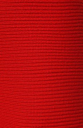 Женская кашемировая юбка ADDICTED красного цвета, арт. MK922   Фото 5 (Материал внешний: Шерсть; Кросс-КТ: Трикотаж; Длина Ж (юбки, платья, шорты): Миди; Статус проверки: Проверено)