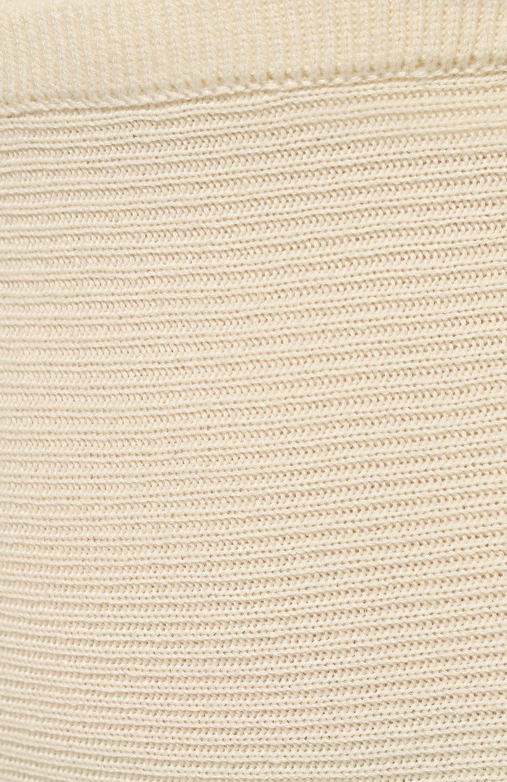 Женская кашемировая юбка ADDICTED белого цвета, арт. MK922   Фото 5 (Материал внешний: Шерсть; Кросс-КТ: Трикотаж; Длина Ж (юбки, платья, шорты): Миди; Статус проверки: Проверено)