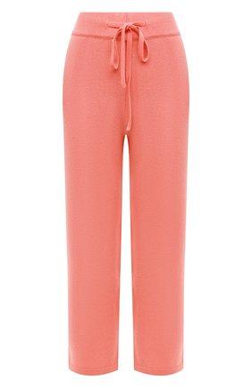 Женские брюки из смеси шерсти и кашемира ADDICTED розового цвета, арт. MK916 | Фото 1