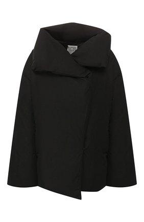 Женский пуховая куртка TOTÊME черного цвета, арт. ANNECY D0WN JACKET 194-111-736 | Фото 1