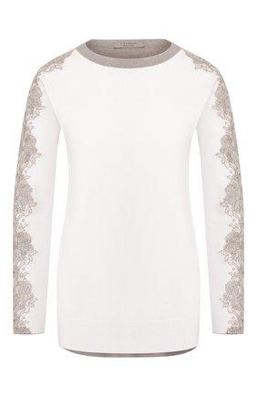 Женский пуловер D.EXTERIOR бежевого цвета, арт. 49092   Фото 1