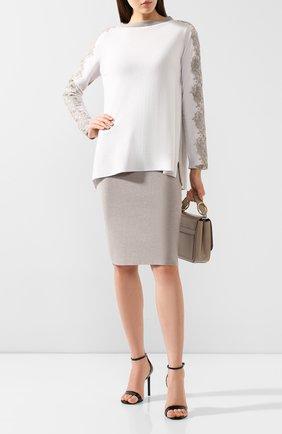 Женский пуловер D.EXTERIOR бежевого цвета, арт. 49092   Фото 2