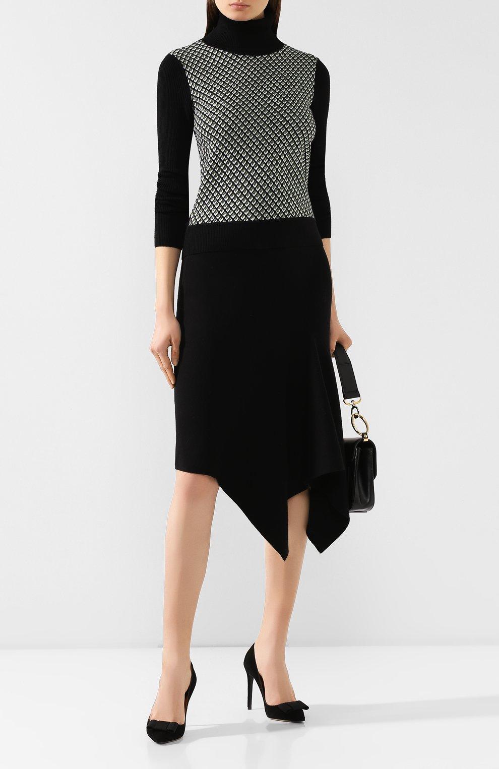 Женская юбка DIANE VON FURSTENBERG черного цвета, арт. 13337DVF   Фото 2