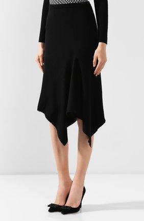 Женская юбка DIANE VON FURSTENBERG черного цвета, арт. 13337DVF   Фото 3